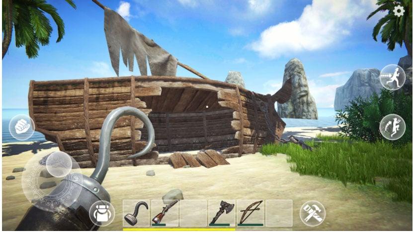 last pirate survival juegos parecidos a rust
