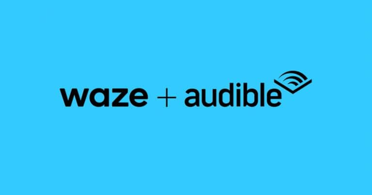 podcasts waze audible
