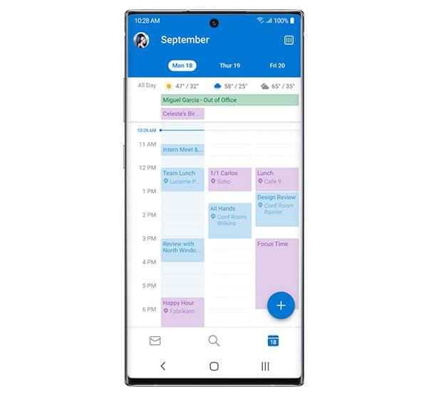 apps microsoft office atajos tareas