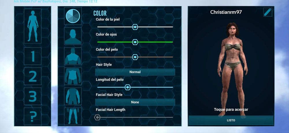 ark survival evolved editor personaje