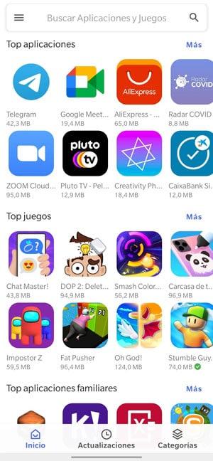 aurora store apps