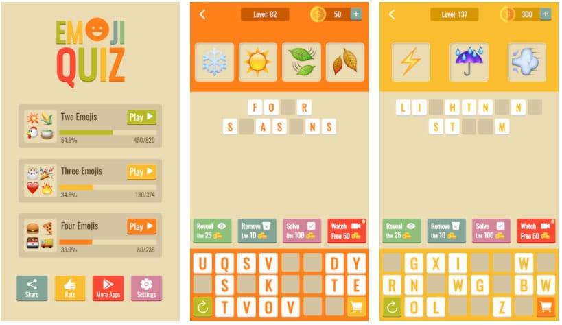 emoji quiz juegos gratis semana 9