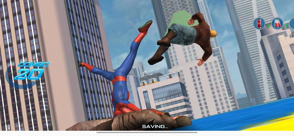 the amazing spider man 2 combate