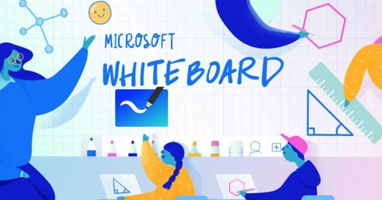 pizarra virtual Microsoft Whiteboard
