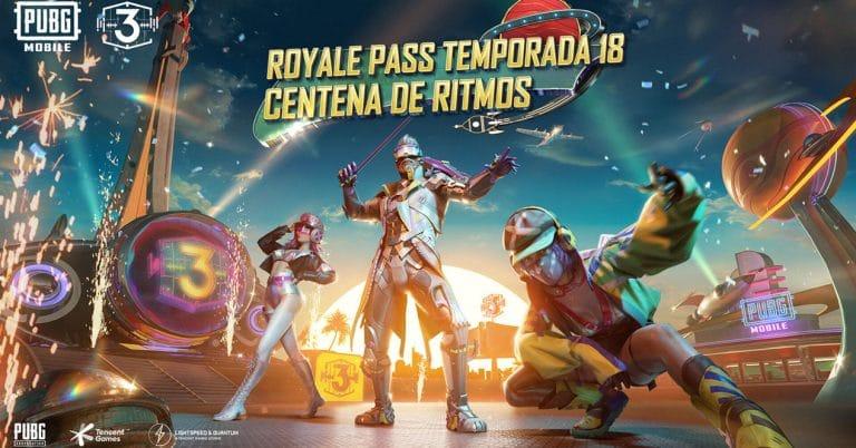royale pass temporada 18 pubg mobile