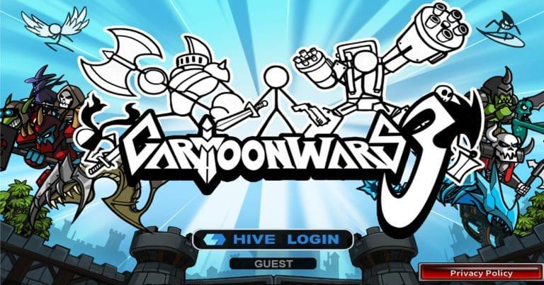Logo Cartoon Wars