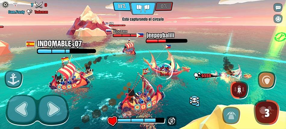 Pirates Code batalla