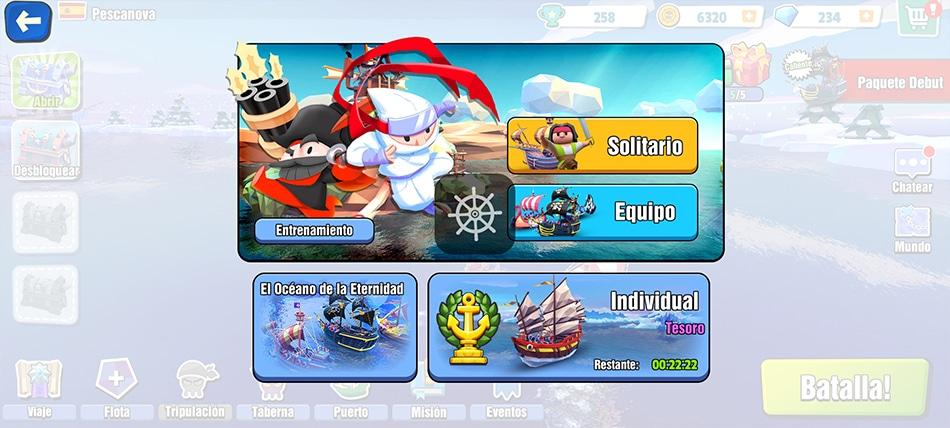 Pirates Code Modos de juego