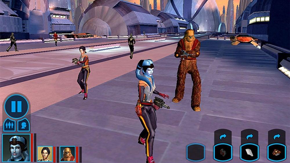 Star Wars kotor ambientación