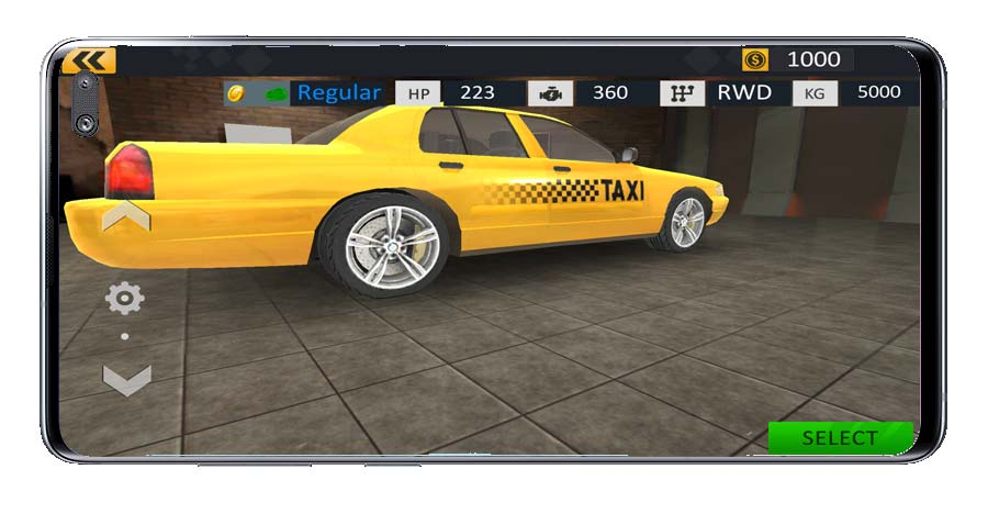 Cambio de llantas en Taxi Driver Sim