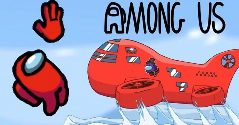 mapa airship among us