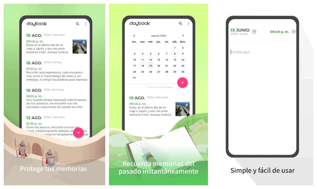 daybook app