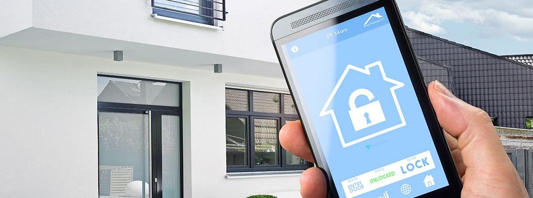 seguridad hogar con android